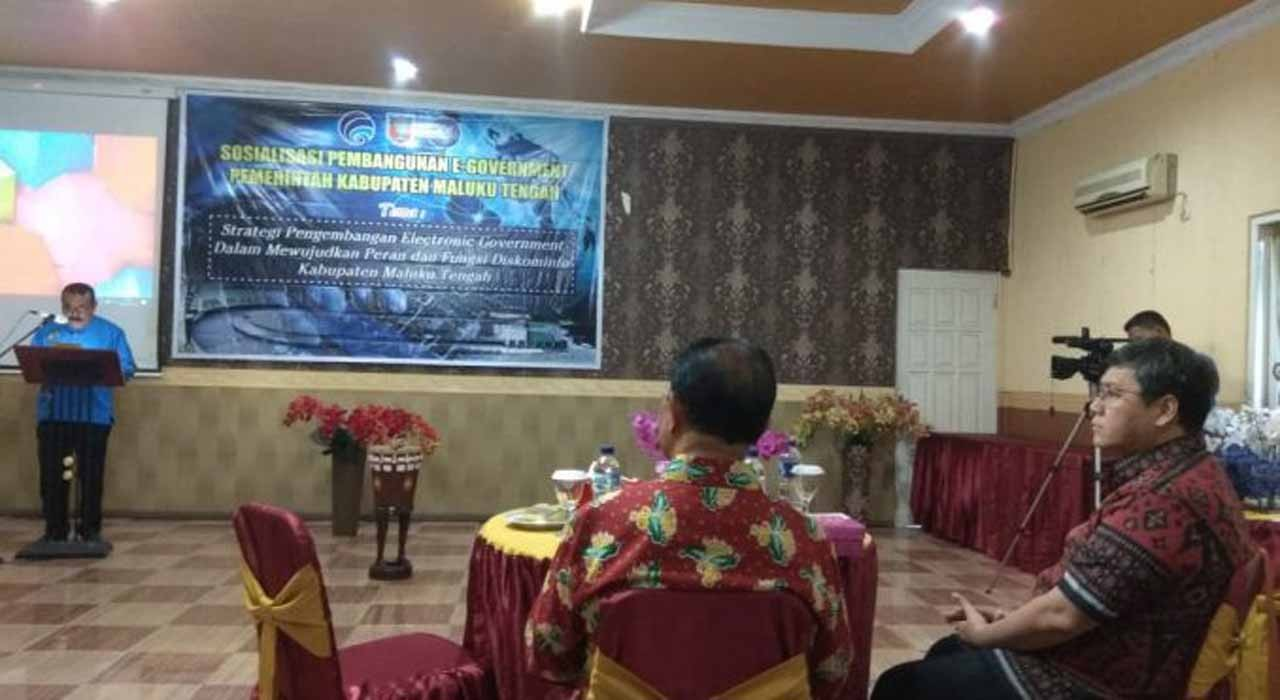 Maluku Tengah Tingkatkan Kualitas Layanan Melalui e-Government