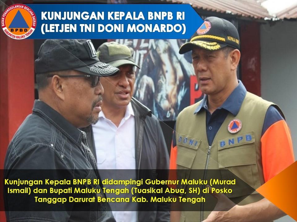 Angka Jumlah Penyintas Pascagempa Maluku Dinamis